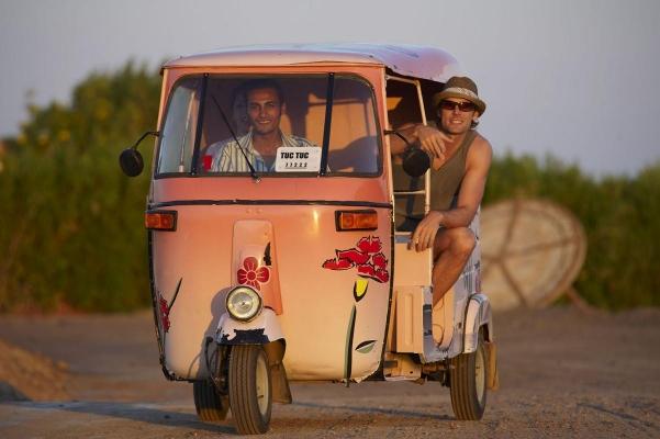 Tuc Tuc (Taxi), El Gouna, Rotes Meer, Aegypten