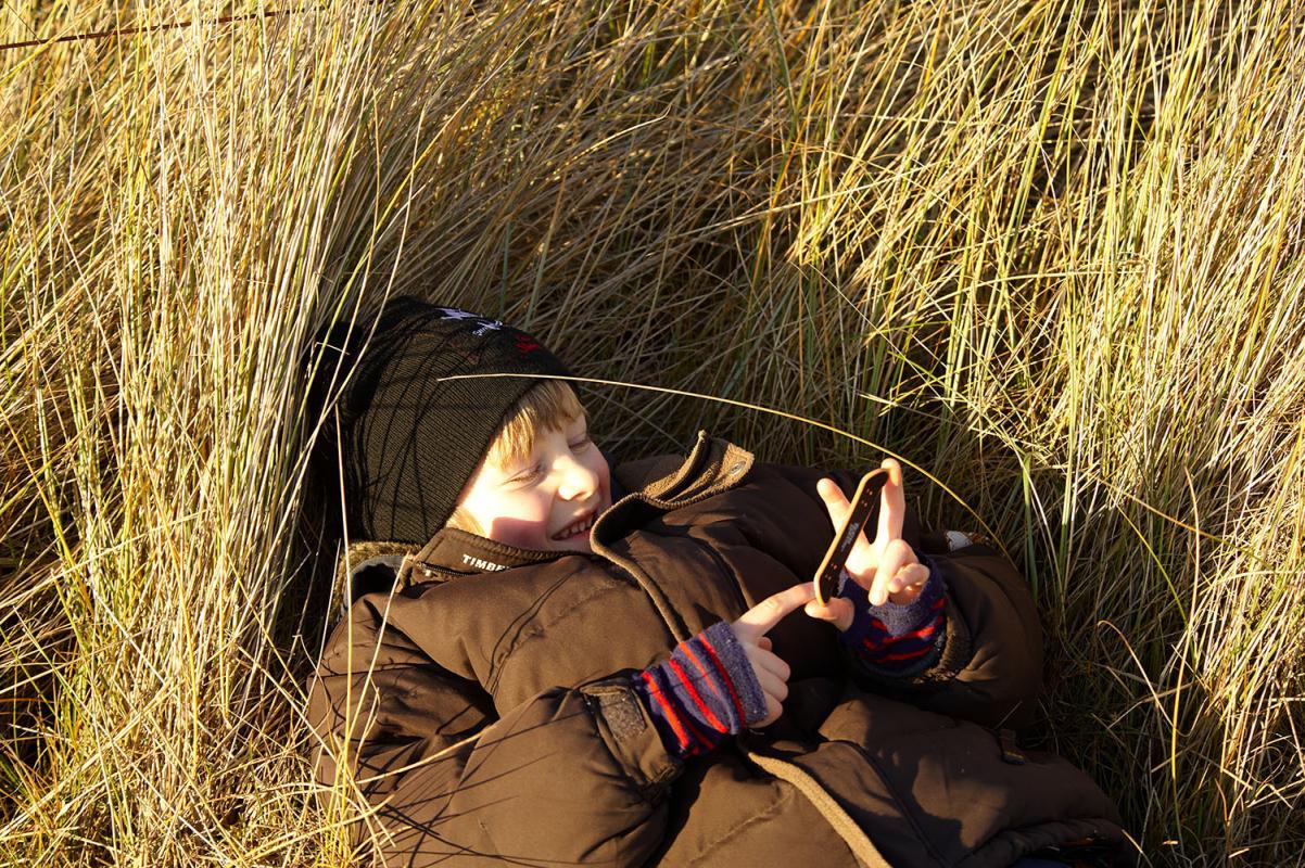bei Sueddorf, Insel Amrum, Schleswig-Holstein, Winter 08/09, WebungPR
