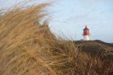 Quermarkenfeuer, Nordseekueste, Westkueste Insel Amrum, Schleswig-Holstein, Winter 08/09