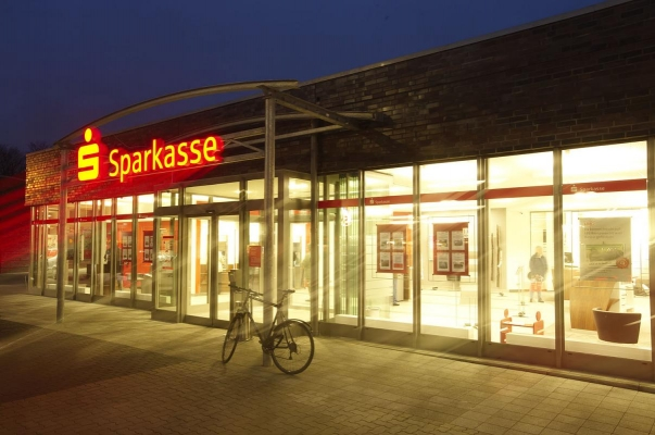 Nospa, Sparkassenfiliale Flensburg, Entwurf: BancArt GmbH