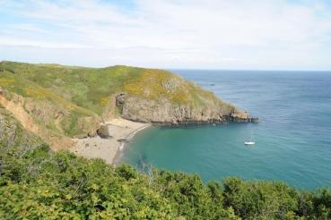 Dixcart Bay, Insel Sark, Kanalinseln, Grossbritannien
