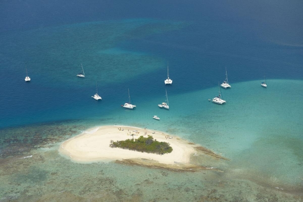 Sandy Spit, bei Jost Van Dyke, British Virgin Islands