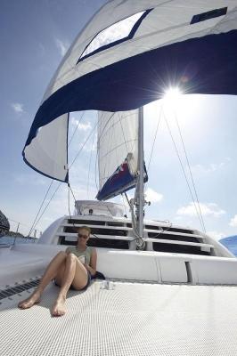 Segelimpressionen, Moorings Katamaran 4600, British Virgin Islands
