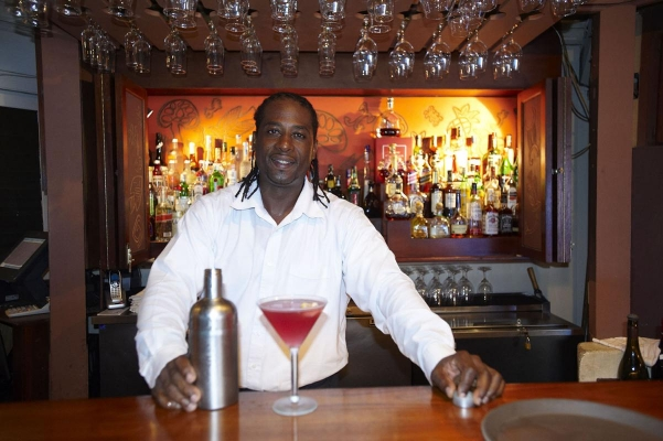 Barkeeper, Biras Creek, North Sound, Virgin Gorda, British Virgin Islands