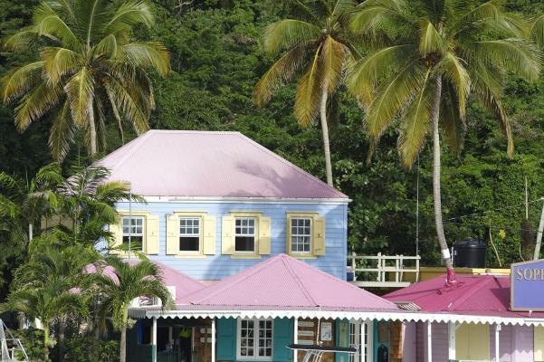 Soper\'s Hole Wharf and Marina, Sopers Hole, Tortola, British Virgin Islands