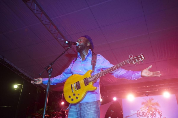 BVI Music Festival, Cane Garden Bay, Tortola, British Virgin Islands, Karibik, 2011