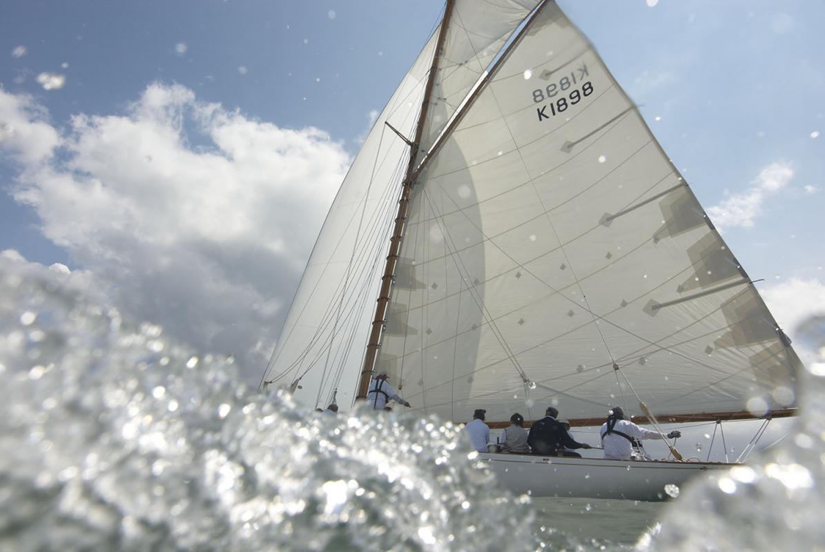 Regatta: Panerai Classic Yachts Challenge, Cowes, Isle of Wight, Solent, England