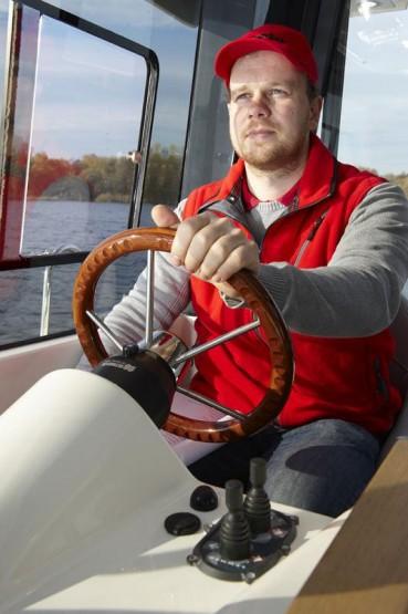 Test Motorboot