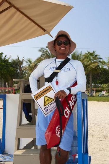 Aquaventure Park, Wasserpark, Hotel Atlantis The Palm Dubai, Dubai, Vereinigte Arabische Emirate