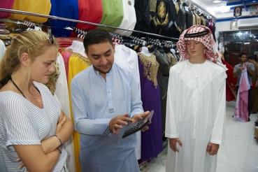 Souks, Stadtteil Al Ras, Dubai, Vereinigte Arabische Emirate