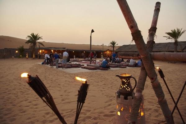 Camp, Desert Safari, Dubai, Vereinigte Arabische Emirate