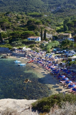 Bucht Arenelle, Insel Giglio, Toskanischer Inselarchipel, Toskana, Italien