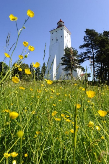 Leuchtturm Kopu tutetorn, Insel Hiiuamaa, Estland