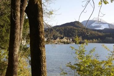 Fuschlsee, Fuschl am See, Salzkammergut, Oesterreich