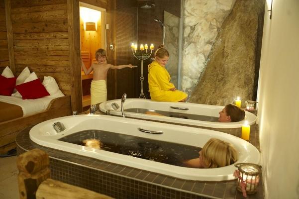 Moorbad, Hotel Ebners Waldhof, Fuschl am See, Salzkammergut, Oesterreich