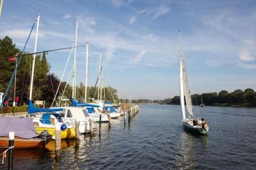 Missunde, Ostseefjord Schlei, Schleswig-Holstein, Deutschland, Oktober 2010