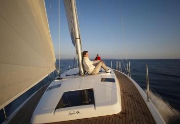Segelyacht Hanse 415, Werft: Hanseyachts AG, Shooting: Mallorca