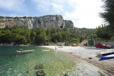Bucht Pokrivenik, Insel Hvar, Kroatien