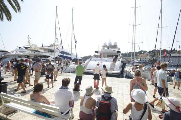 Hafen Hvar, Insel Hvar, Kroatien