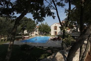 Ferienhaus bei Ort Salambati, Hinterland von Istrien, Kroatien