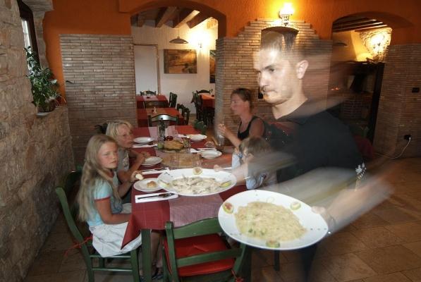 Restaurant La Parenza, Volpia, bei Buje, Istrien, Kroatien