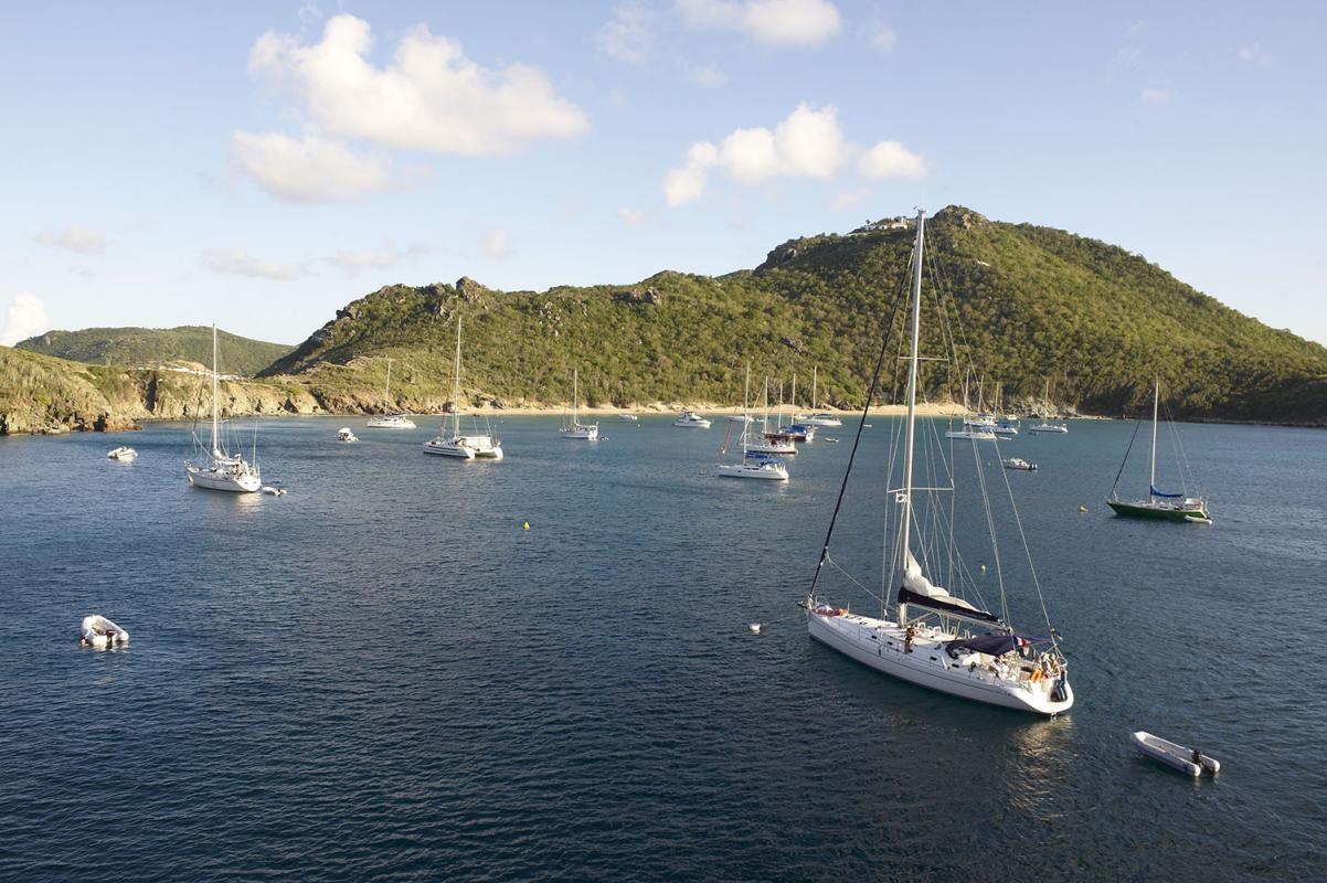 Anse du Grand Colombier, Saint Barthélmy (St. Barth), Kleine Antillen, Karibik