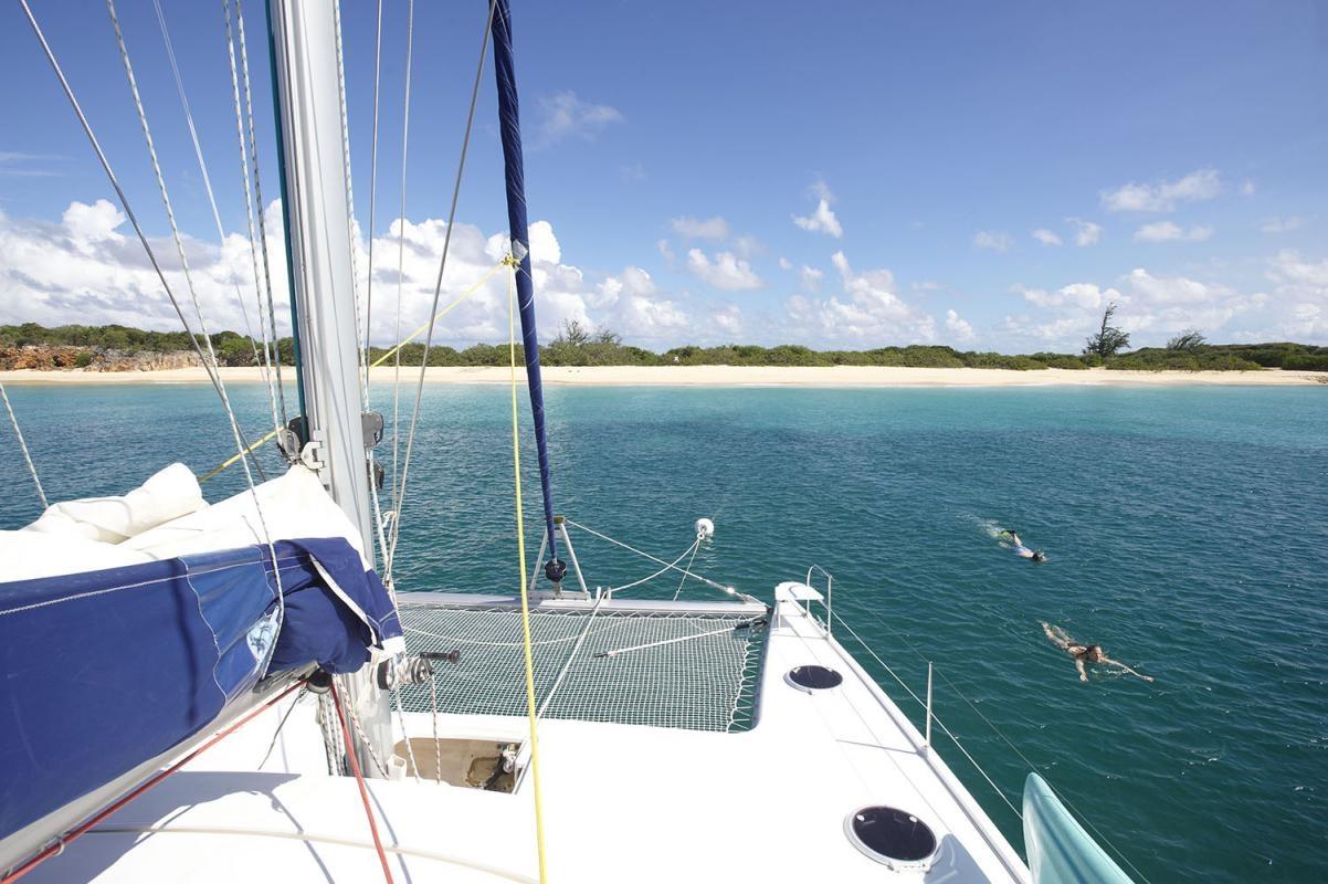 Ile Tintamarre, bei Saint Martin, Kleine Antillen