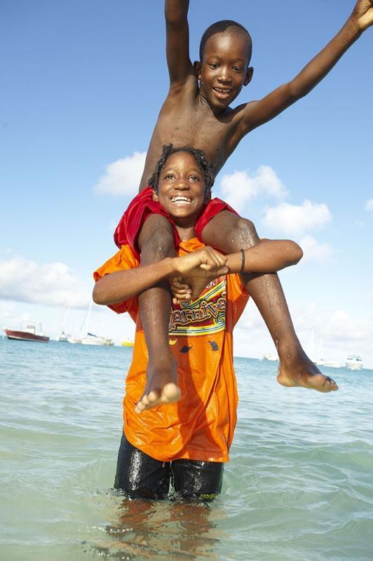 Sandy Ground Village, Anguilla, Kleine Antillen