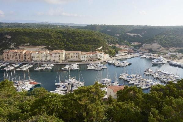 Bonifacio, Suedkueste Korsika, Frankreich