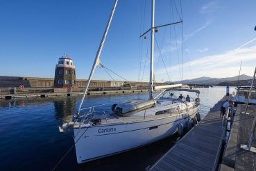 Yachthafen Puerto Calero, Lanzarote, Kanarische Inseln, Spanien