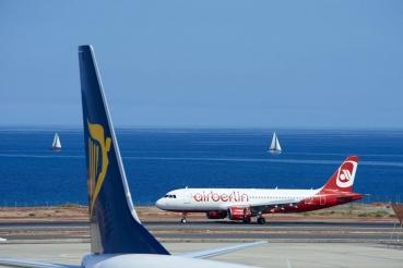 Flughafen Arrecife, Lanzarote, Kanarische Inseln, Spanien