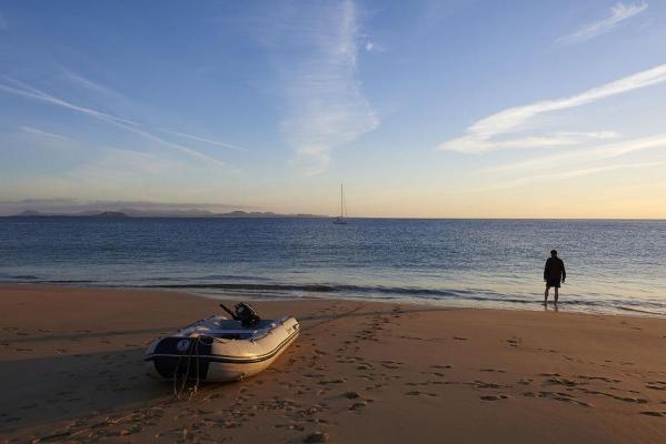 Papagayo Strand, bei Playa Blanca, Suedkueste Lanzarote, Atlantik, Atlantischer Ozean, Kanarische Inseln, Spanien