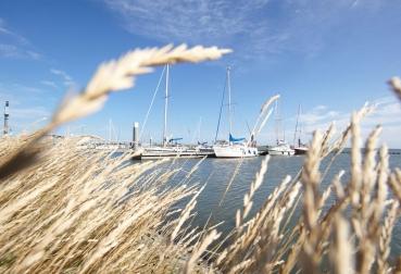 Yachthafen von Schiermonnikoog, Region Friesland