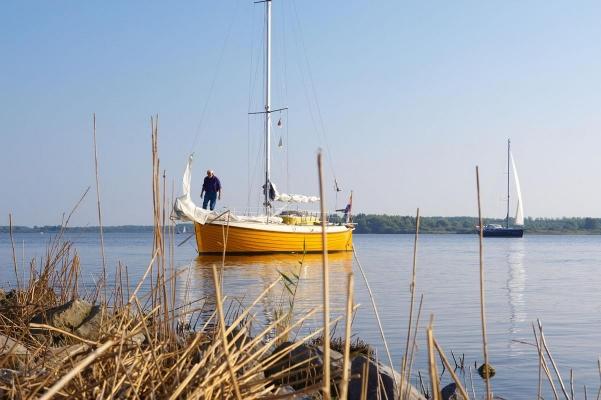Lauwersmeer, bei Lauwersoog, Region Groningen