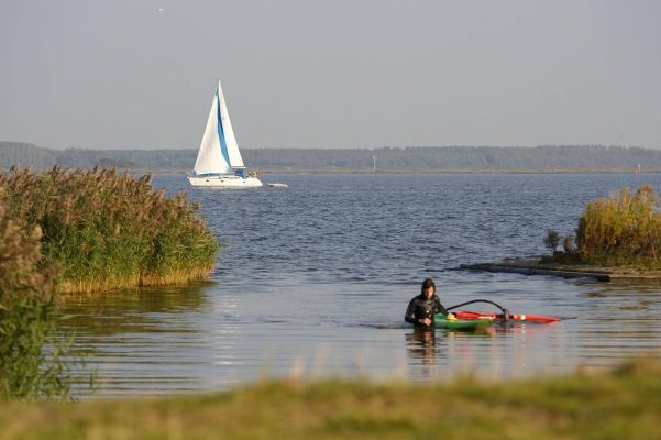 Lauwersmeer bei Bantshaven, Region Friesland