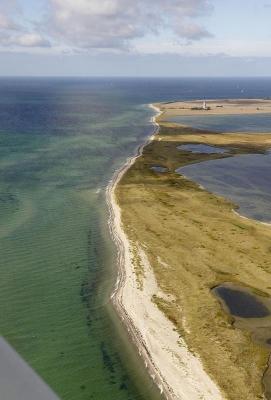 Nehrungshalbinsel, Nehrungshaken Krummsteert, Suedwestspitze Insel Fehmarn, Schleswig-Holstein