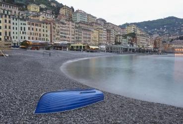 Camogli, Riviera di Levante, Ligurien, Italien