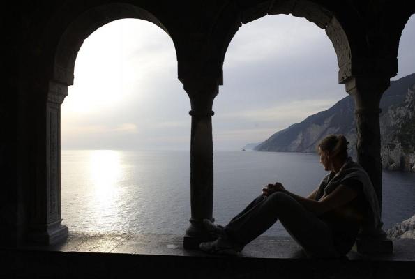 Portovenere, Golfo di La Spezia, Riviera, Ligurien, Italien