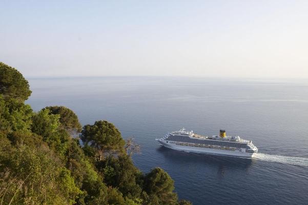 bei Portofino, Riviera di Levante, Ligurien, Italien
