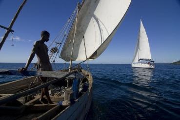 vor Nosy Be, Madagaskar