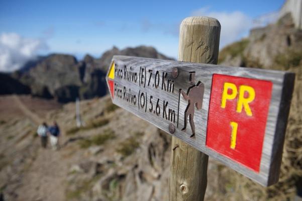 Pico do Areiro, Insel Madeira, Portugal