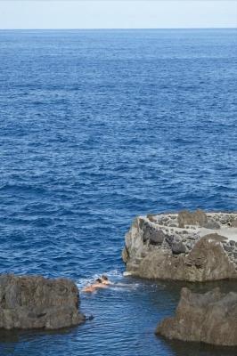 Naturschwimmbecken, Porto Moniz, Insel Madeira, Portugal