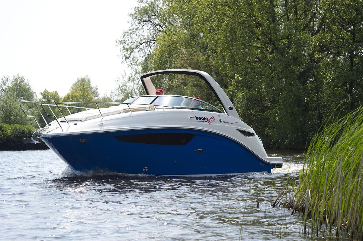 Sea Ray, Sundancer 265, Holland, Test, Redakteur: Ralf Marquard, Gleiter