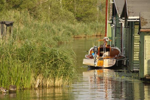 Plau am See, Mecklenburgische Seenplatte, Mecklenburg-Vorpommern, Deutschland, Sommer 2010