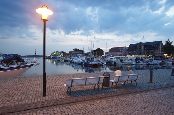 Waren, Binnenmueritz, Mecklenburgische Seenplatte, Deutschland