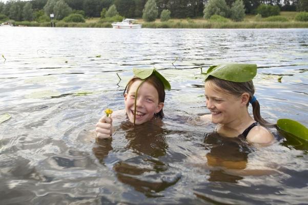 Malchower See, Mecklenburgische Seenplatte, Deutschland