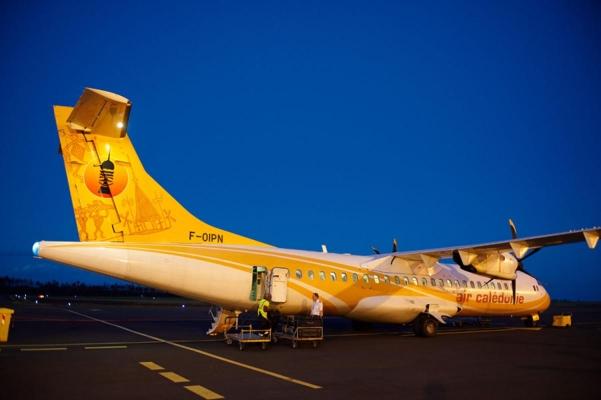 Air Caledonie, Flughafen Ile de Pins, Neukaledonien, Südpazifik, November 2010