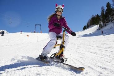 Snowbike, Obertauern, Saltburger Land Suedost, Oesterreich