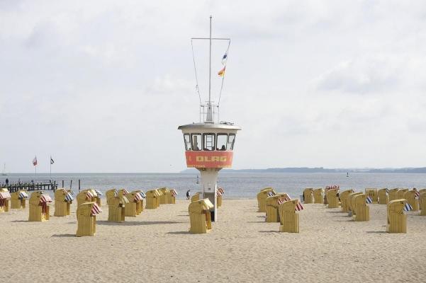 Travemuende, Schleswig-Holstein, Ostsee