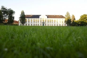 Schloss Augustenborg, Insel Als, Daenemark, Ostsee